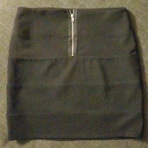 Vintage Small black OL skirt
